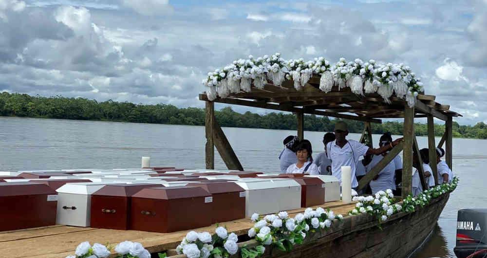"""""""Estamos cansados de recoger muertos"""" el himno de Bojayá"""