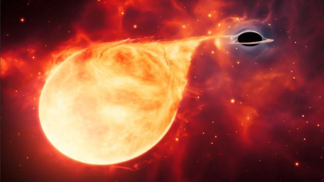El 'homicidio cósmico' con el que se descubrió un eslabón perdido de los agujeros negros