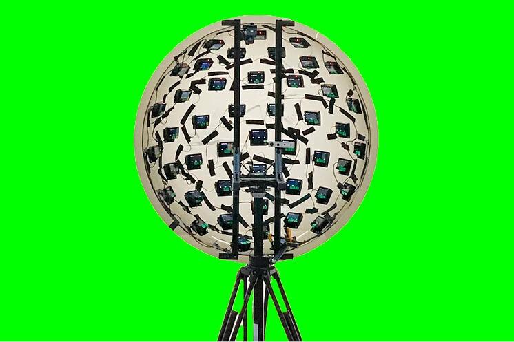 La cámara más sofisticada del mundo viene en forma de esfera con 46 ojos