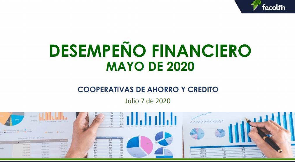 Análisis de desempeño financiero cifras con corte a moyo de 2020