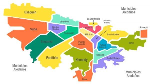 Bogotá, en confinamiento total y toque de queda, 46.782 ±