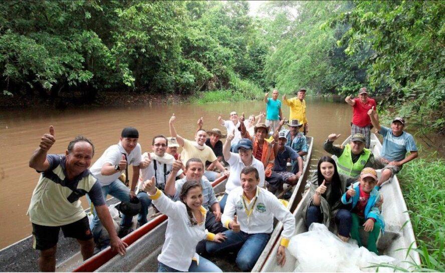 200 mil alevinos liberados en el Río Magdalena para su repoblamiento