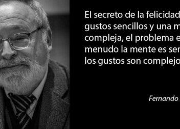 La solidaridad hace sociedad: Fernando Savater