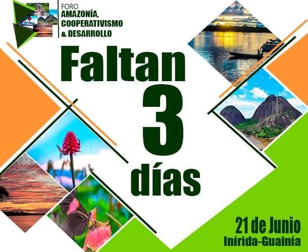 Foro Amazonia Cooperativismo y Desarrollo.