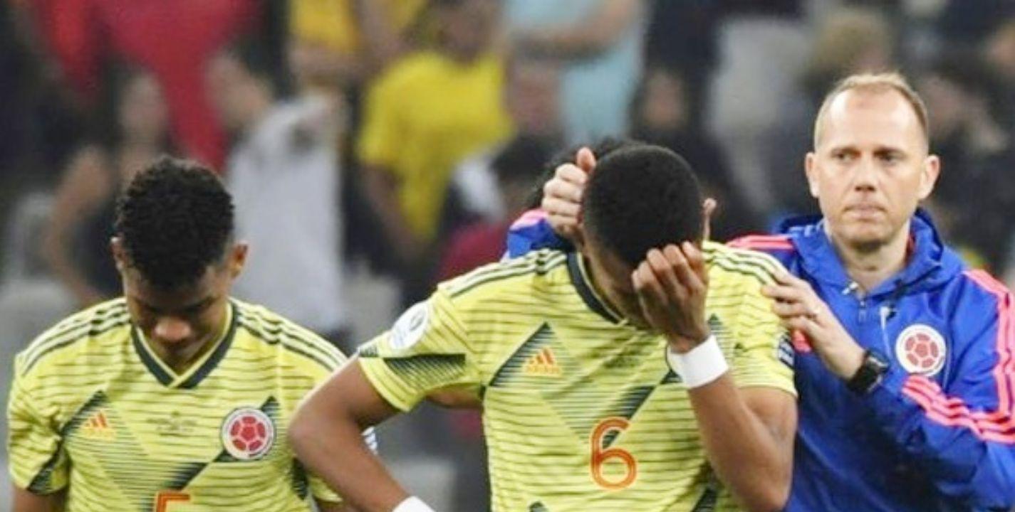 Otra decepción Colombia