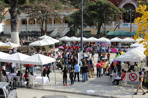 Cáqueza fue el lugar de encuentro para la XI Feria de Economía Solidaria organizada por Mintrabajo y la UAEOS