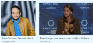 Martha Lucía Ramírez, ocultó por conveniencia información del pago de la fianza de su hermano Bernardo Ramírez, procesado por narcotráfico y condenado en 1998, hace 22 años.