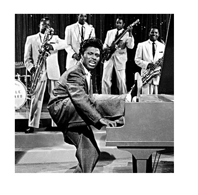 Little Richard, Rey del contagio musical
