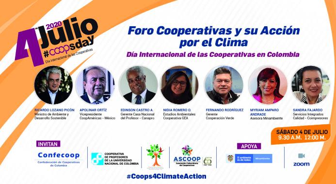 Foro: Cooperativas y su acción por el clima