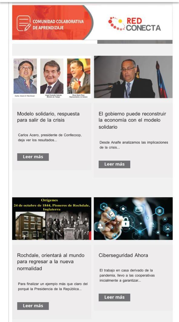 Bienvenida la alianza informativa con la Red Conecta