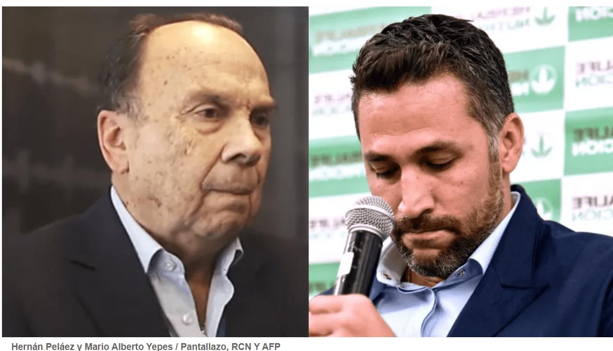 Mario Yépez le mintió a Hernán, Duque veloz defensor de Avianca. Uribe en 2 partidas