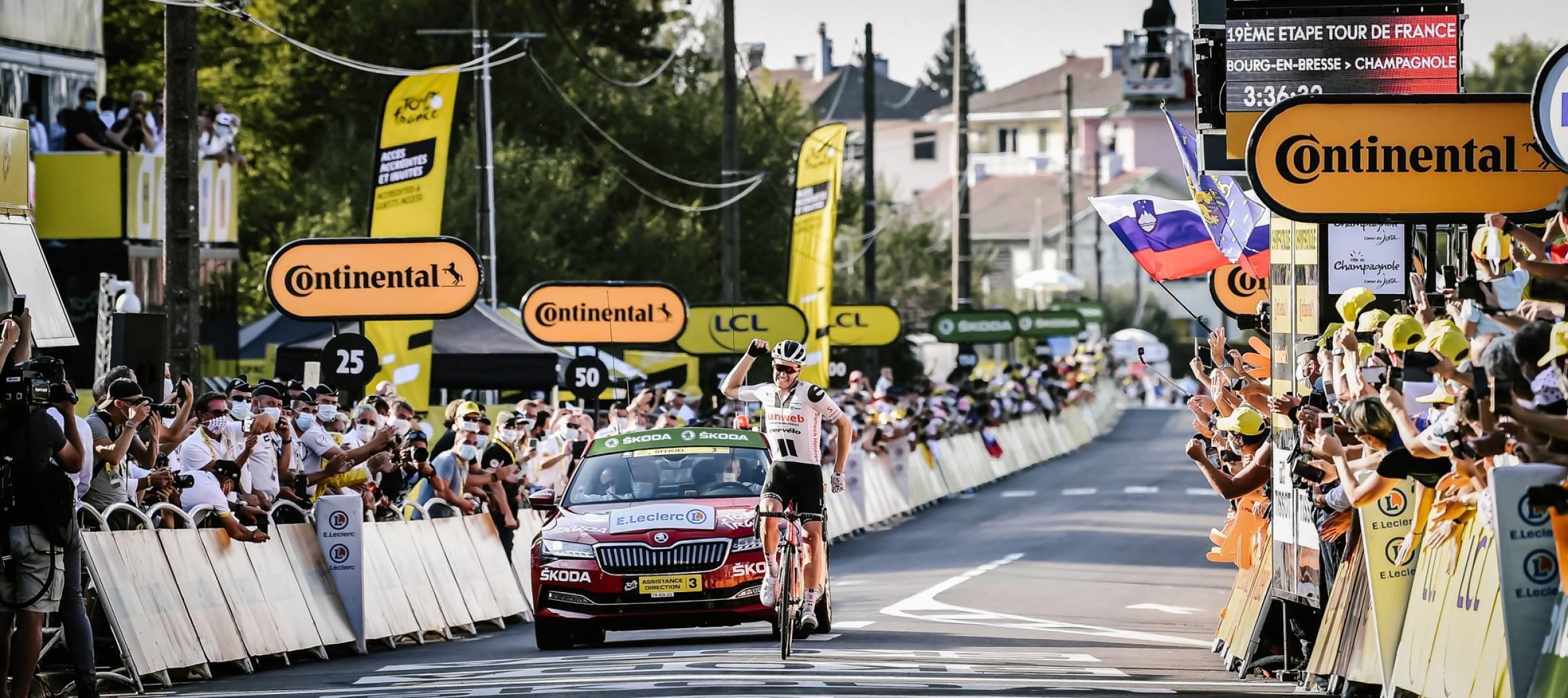 Segunda del danés Soren Kragh Andersen, tercera del tour de Sunweb
