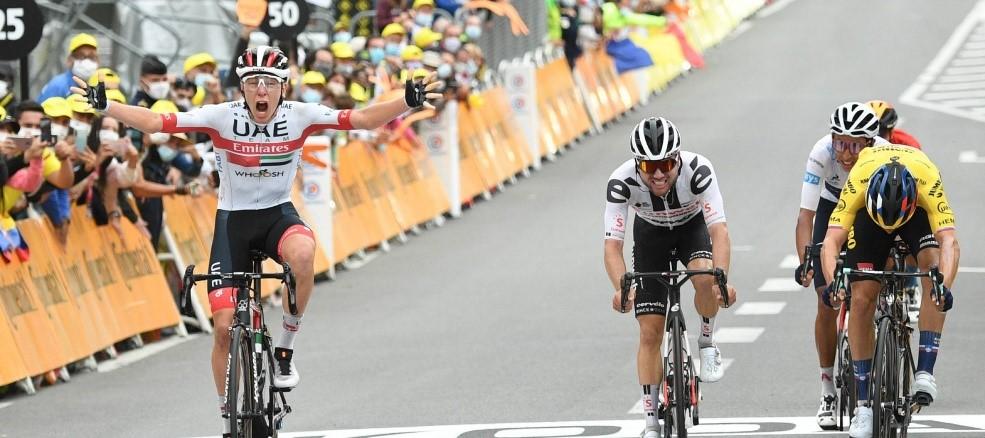Pogacar reinó en los Pirineos, Roglic Líder, Egan, segundo, cada etapa mejor