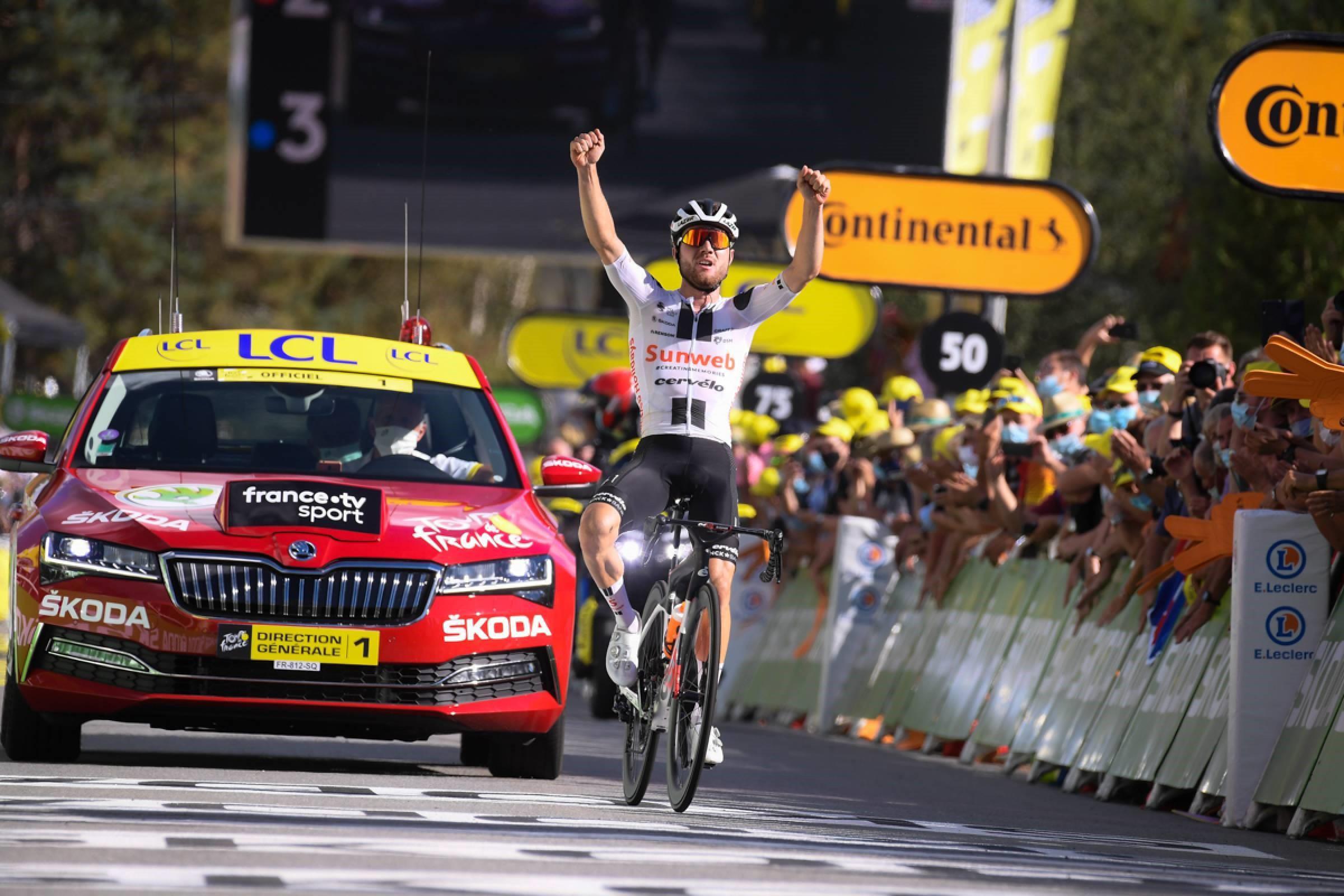 """Marc Hirschi, victoria en la etapa 12. ROGLIC 1º - EGAN A 21"""""""