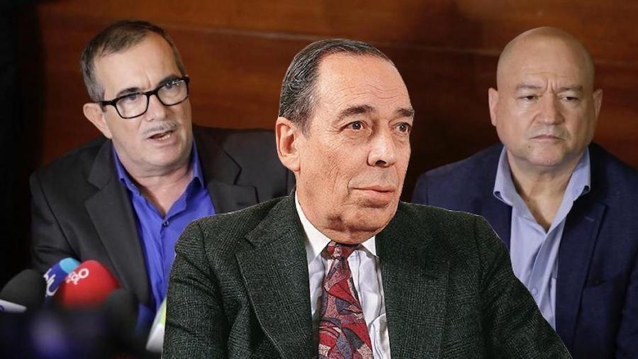 Rodrigo Londoño y Julián Gallo a la Fiscalía por caso Álvaro Gómez Hurtado