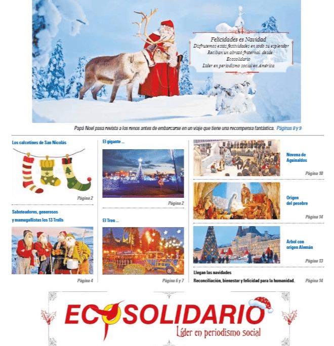 Santa Claus, los renos y elfos preparan la edición 176 Especial de Navidad 2020