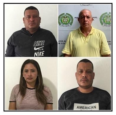 Capturada 'Caro' y tres más usaban vuelo humanitario para narcotráfico