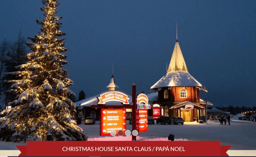 En Finlandia Santa Claus, elfos y renos preparan el gran viaje por Navidad