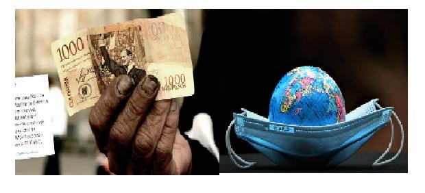 Sainete del salario mínimo y drama mundial por la pandemia