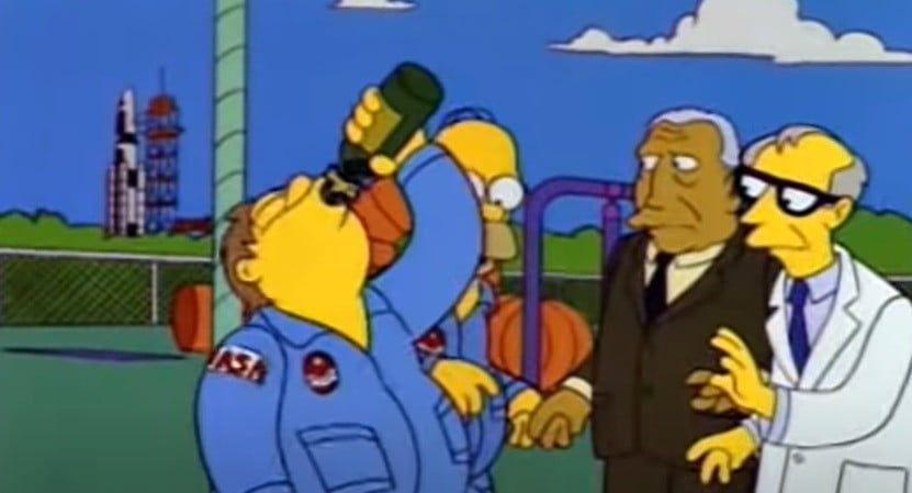 Es verdad: los astronautas sí consumen alcohol en el espacio