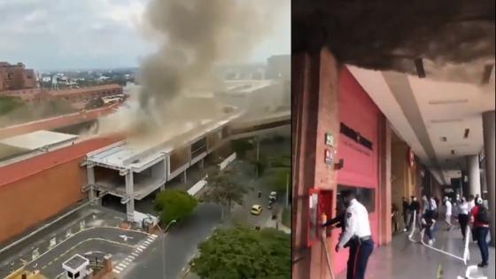 Se controló incendio en un restaurante de CC Chipichape - Cali