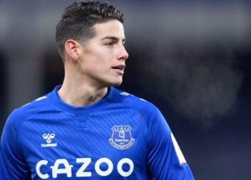 Golazo de James Rodríguez en el Everton vs. Leicester, Premier League