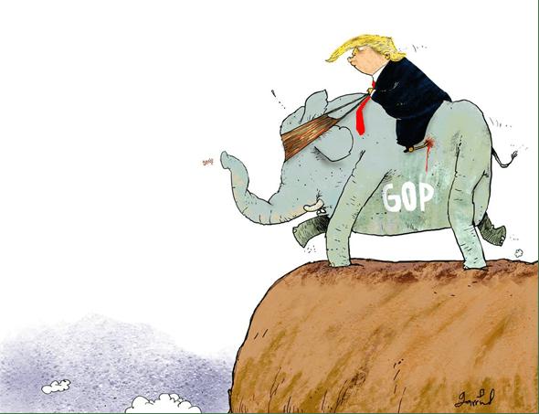 ¿Partido Republicano al precipicio con Trump? Riesgo para EE.UU. Impeachment
