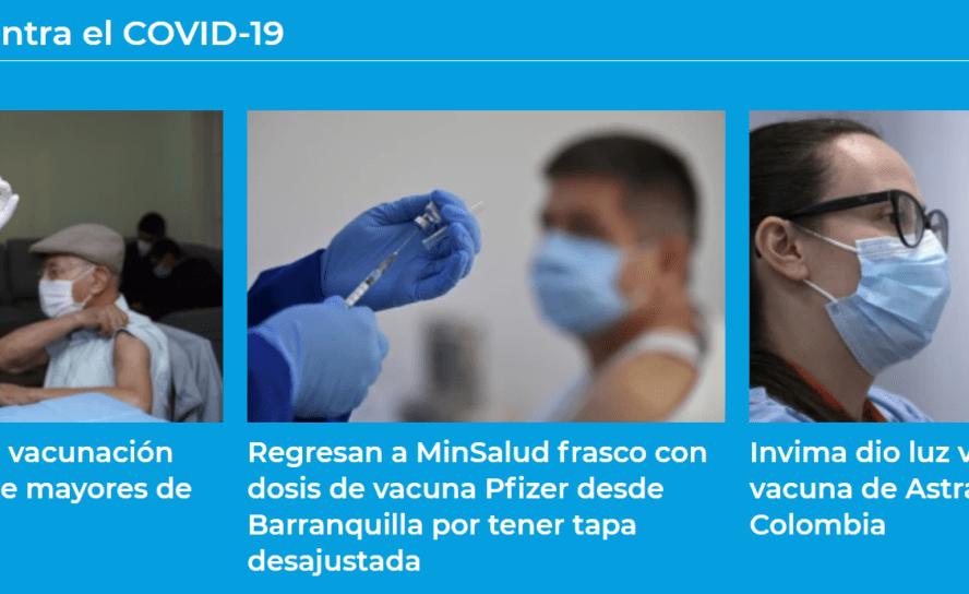 Fase 1 del Plan de Vacunación se ajusta en marzo