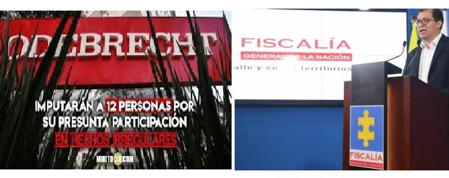 Fiscalía estructuró 6 frentes para entramado de corrupción Odebrecht