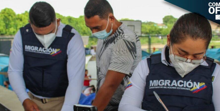 MC envío grupo especial a Arauca para verificación a migrantes venezolanos
