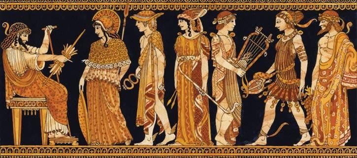 Dioses Héroes de la Antigua Grecia, el encuentro real del linaje