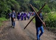 En zona rural de Norte de Santander, viacrucis presencial