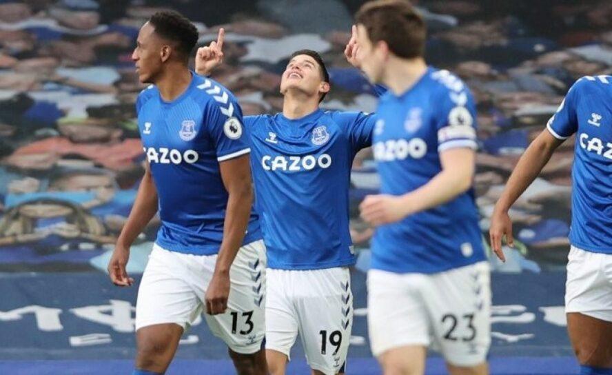 Conquista goleadora de James sus 100 goles en Europa