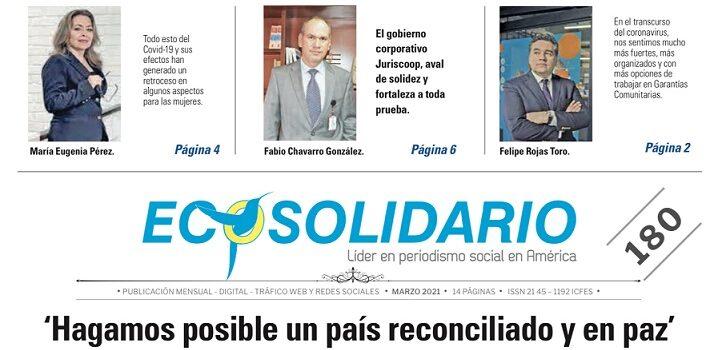 'Hagamos posible un país reconciliado y en paz'