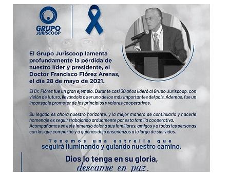 Francisco Flórez Arenas, cooperativista universal de tiempo completo