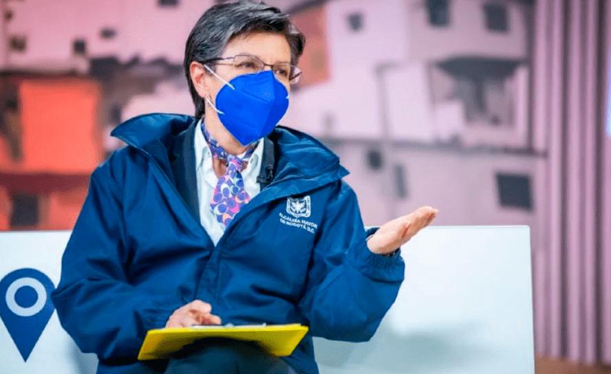 Claudia López, dio positivo para covid-19 – Alejandro Gómez, alcalde encargado