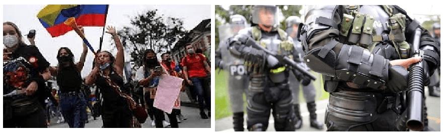 5 de mayo 8º día de protestas, se agudiza el descontento. Disparos desde helicóptero