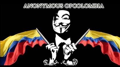 Anónimos se metió al rancho del ejército. '20 asesinados por gobierno Duque-Uribe'