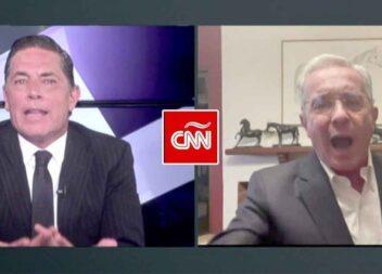 """""""Esta no es una entrevista, es una emboscada"""": Uribe se enfureció con periodista de CNN"""