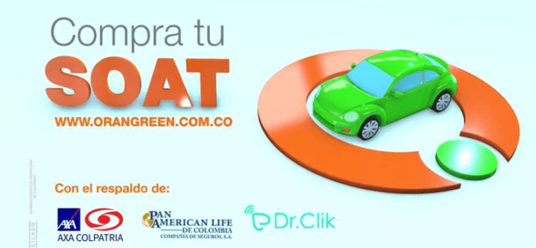 Compre su SOAT en OranGreen y obtiene telemedicina gratis por un año