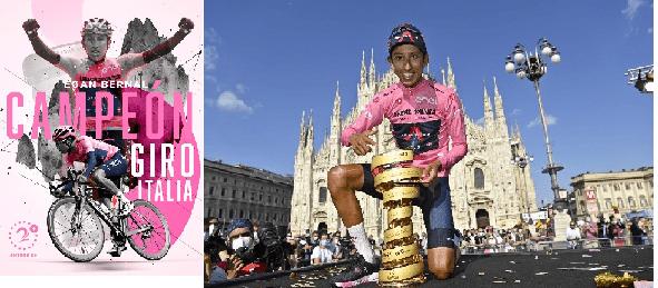 EGAN Campeón del Giro, sobre las dificultades con el INEOS tallaron el éxito