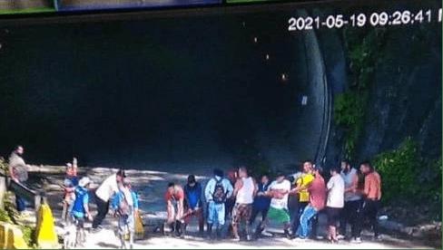 Destruidos ocho túneles de la vía a Buenaventura