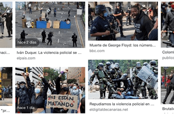 ORG. de DD. HH: más 379 desapariciones, 26 muertes, 1181 abusos en protestas