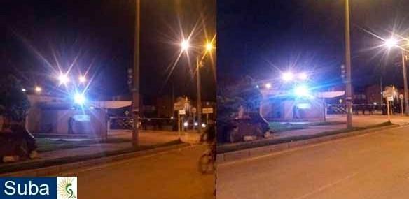 Disturbios en el CAI de Fontanar Río y Gaitana - Localidad de Suba
