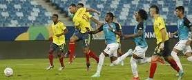 Un gol con jugada de mundial, entre Cardona - Cuadrado – Borja – El 10