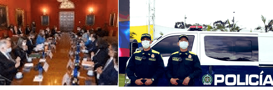 CIDH, 26 bloqueos, Policía nueva imagen, militarización – porosidad y corrupción