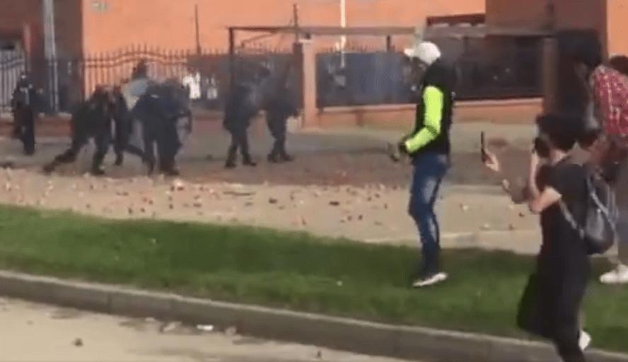 Alteraciones del orden público y enfrentamientos son incidentes comunes
