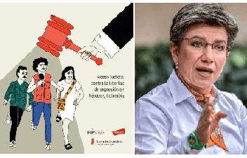 Periodistas de Colombia ¡no se dejen manosear del poder dominante!