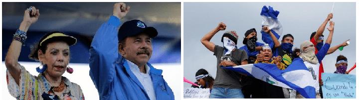 Nicaragua bajo las torturas de Rosario Murillo y su incondicional Daniel