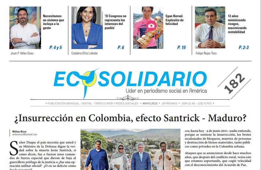 Insurrección en Colombia - Construir un pacto político para la gente